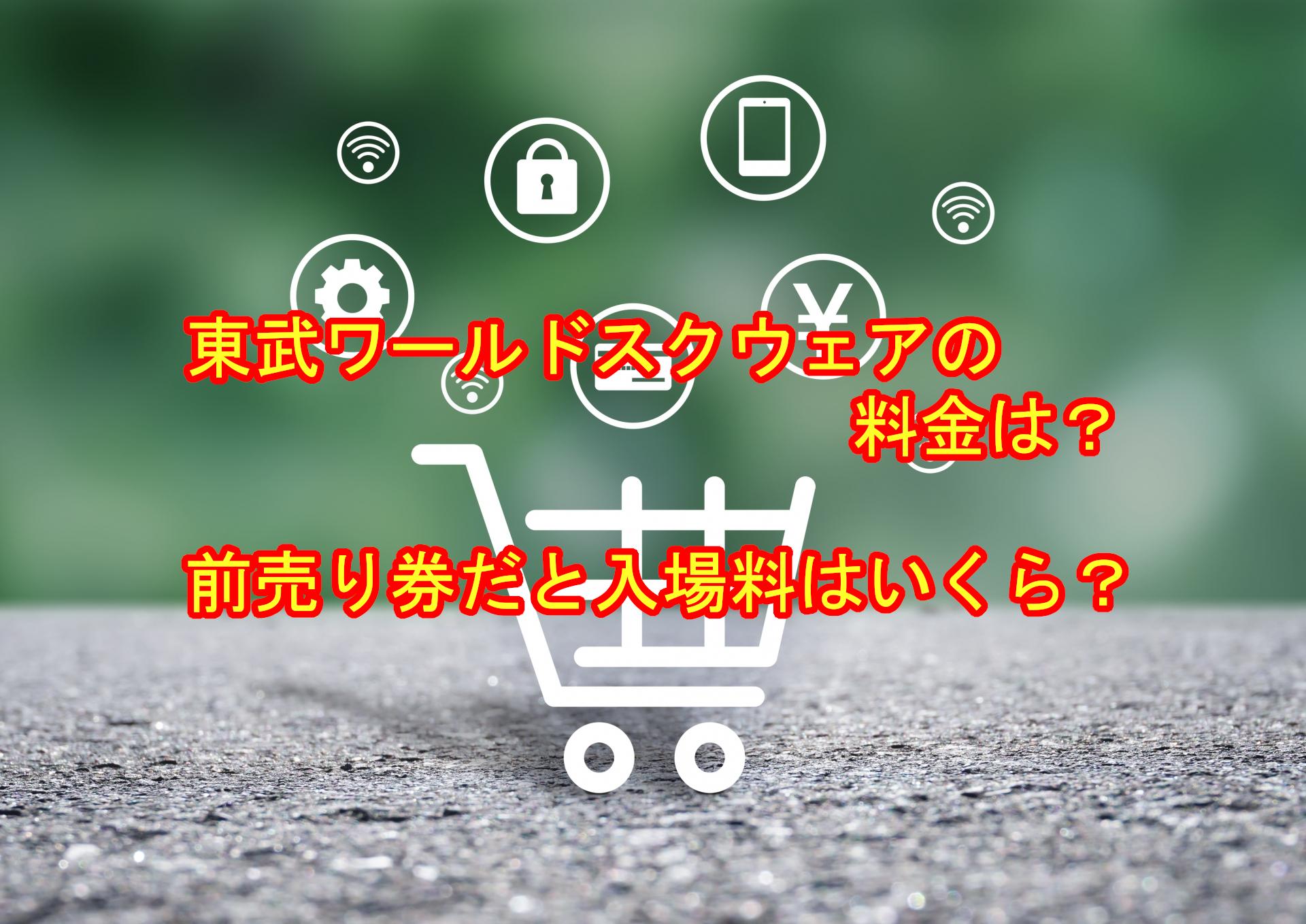 東武ワールドスクエアの料金と前売り券の入場料はどれくらい違う?