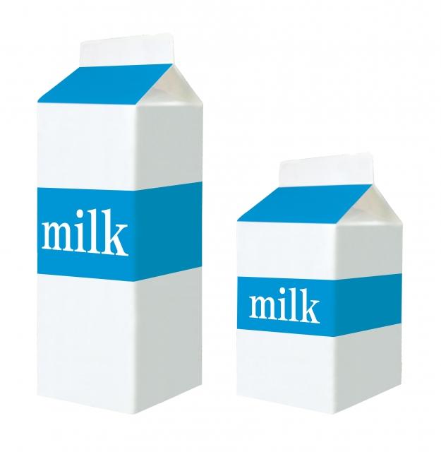 台湾カステラの型の代用品① 牛乳パック