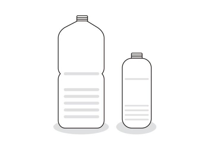 ペットボトルを使ったダルゴナココアの作り方